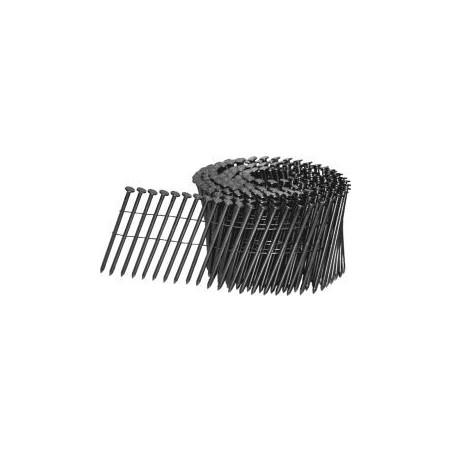 Coilnagels 15° vlak gewikkeld 2,9x75mm galv/ring 4.800 stuks